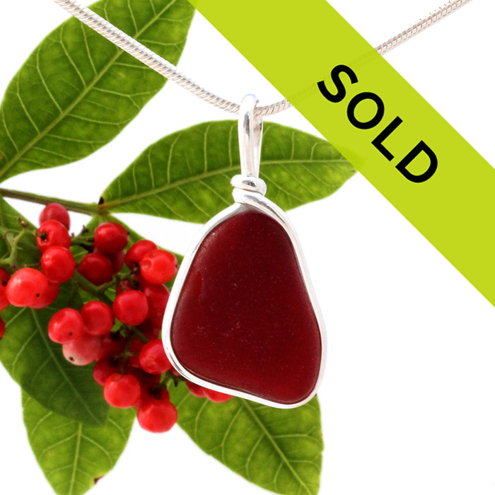 Sorry this sea glass jewelry item has been sold!