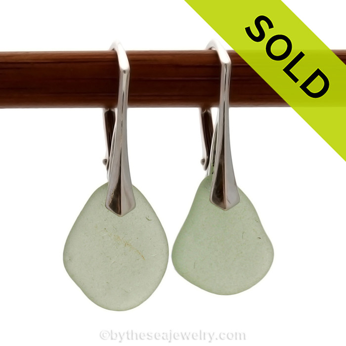 Sorry this sea glass earrings have been sold!