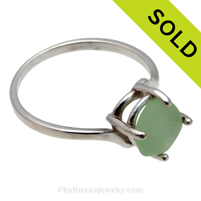 SOLD - Sorry this Sea Glass Ring is NO LONGER AVAILABLE!