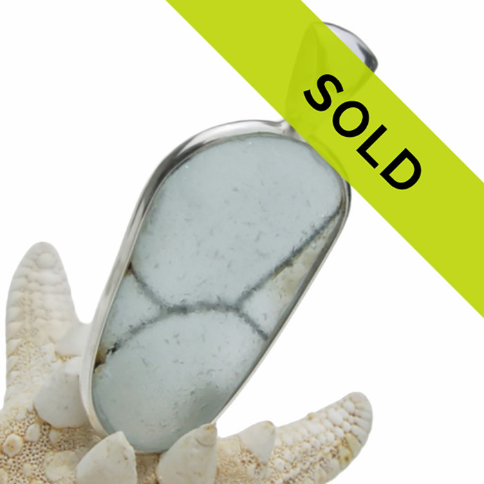 Sorry this ultra rare sea glass pendant has been sold!