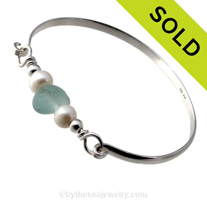 Sorry this One of A Kind Sea Glass Bracelet has been SOLD!