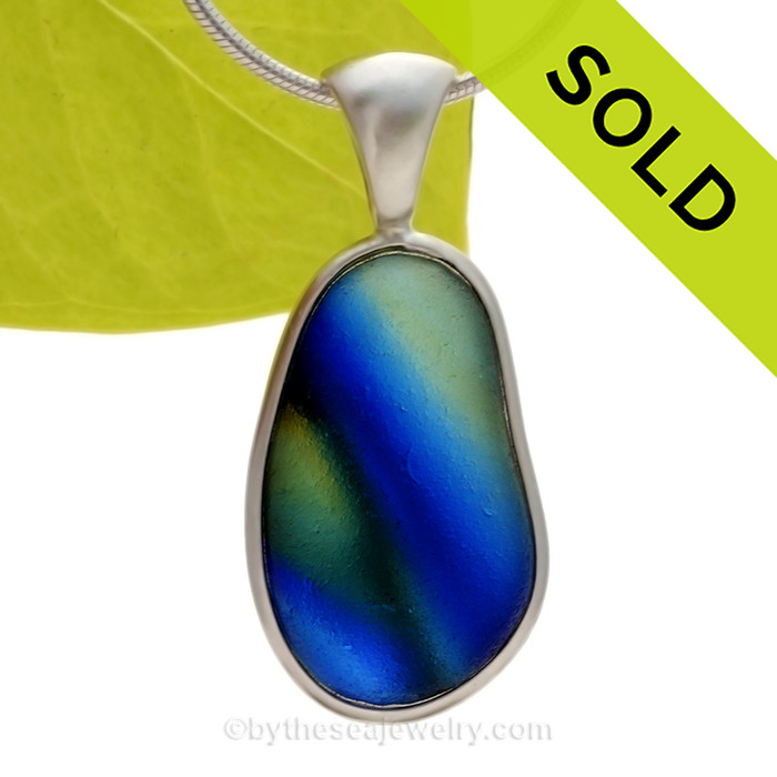 SOLD - Sorry this Ultra Rare Sea Glass Pendant is NO LONGER AVAILABLE!