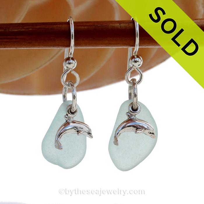 Custom Sea Glass Jewelry Work - Reserved For Joan