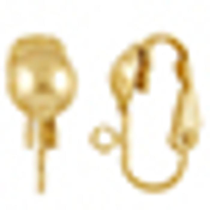 14K Goldfilled Clip Earring Option
