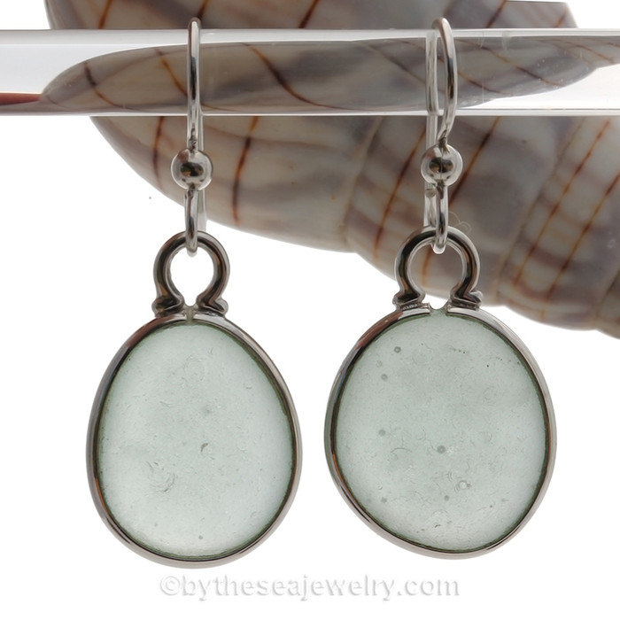 AVAILABLE - These are the EXACT pair of Sea Glass Earrings you will receive!
