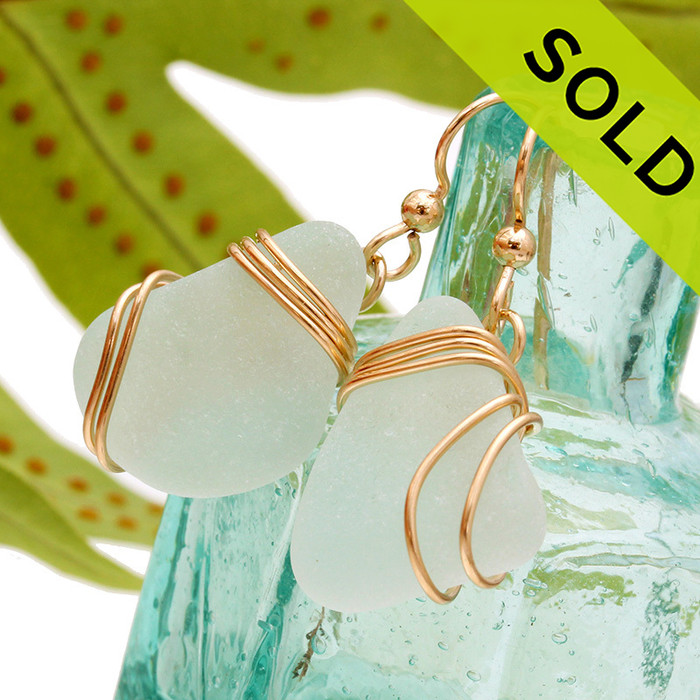 Sorry these Sea Glass Earrings have been SOLD.