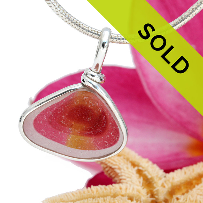 Sorry, this ultra rare sea glass pendant has been sold!