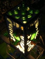 stained glass night light