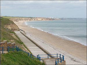Seaham Beach From Causeway