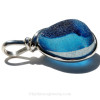 The side view shows you the thickness of this Genuine Sea Glass Jewelry piece