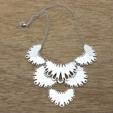 gypsy clover necklace