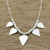 Arrow tip necklace
