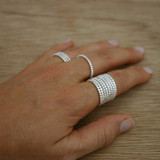 Stackable dot ring
