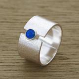 Modern opal ring