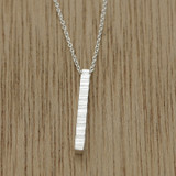 ripple line necklace