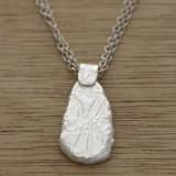pebble lace necklace