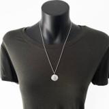 Roman coin necklace