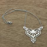 rococo heart necklace