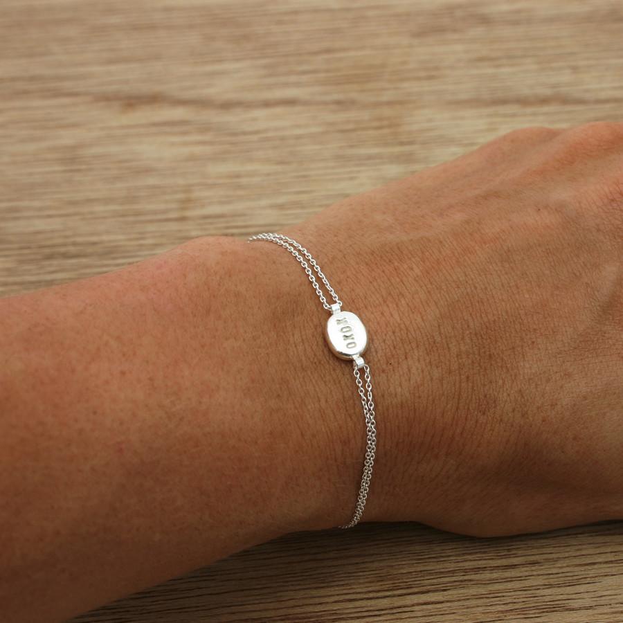 delicate droplet bracelet
