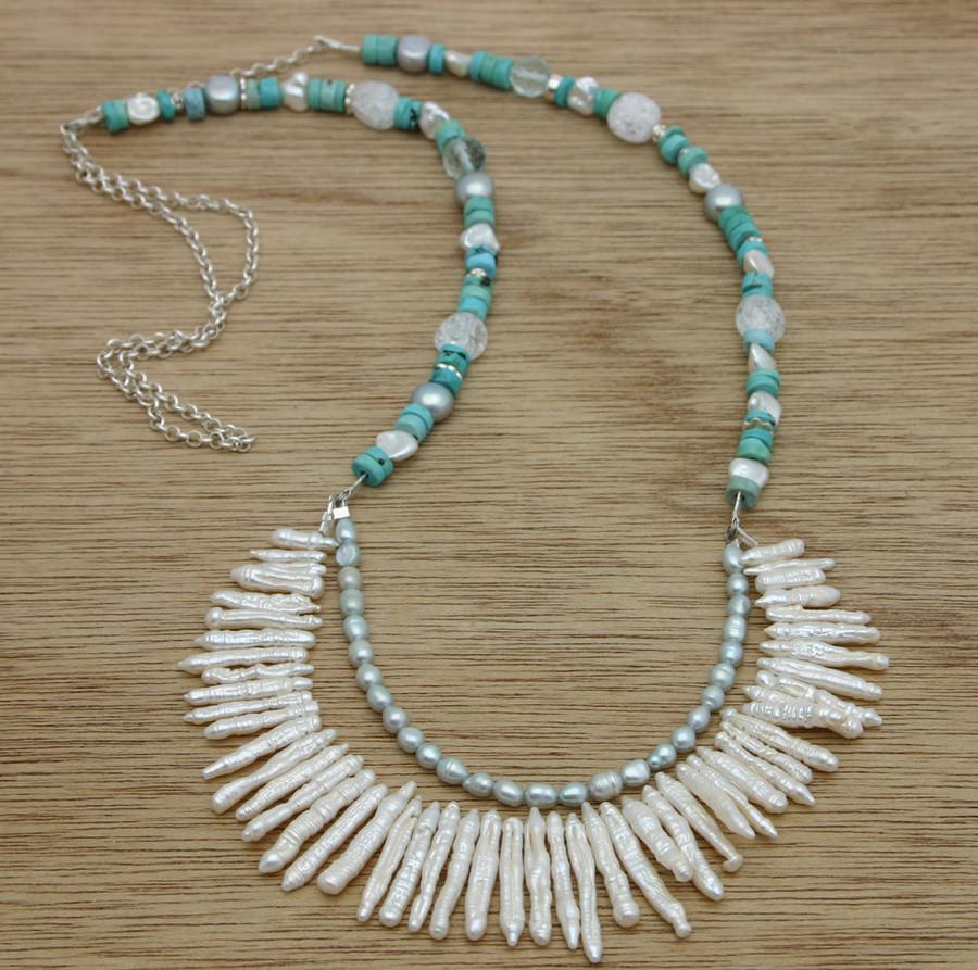Sea fan necklace