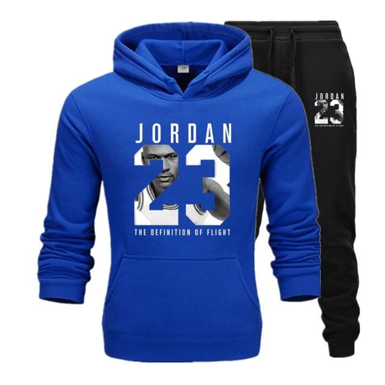 Jordan 23 Tracksuit Suit Fleece Hoodie