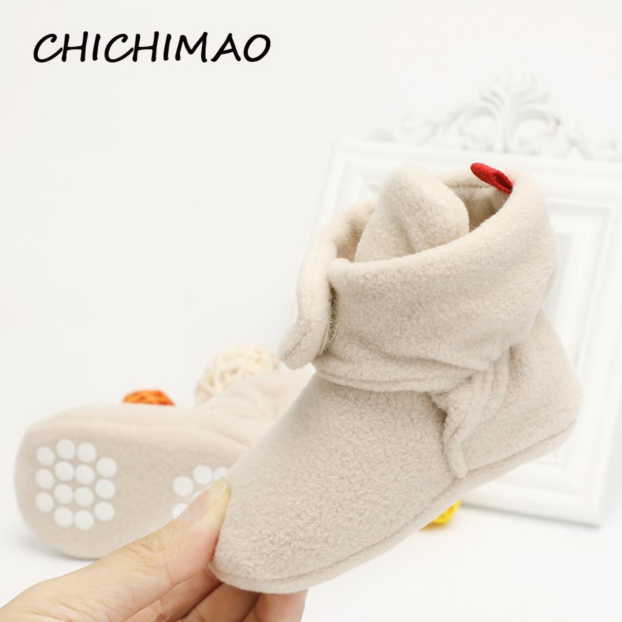 Unisex Baby Toddler Crib Shoes Classic