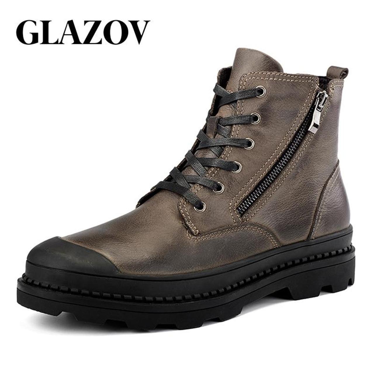 GLAZOV High Quality Genuine leather