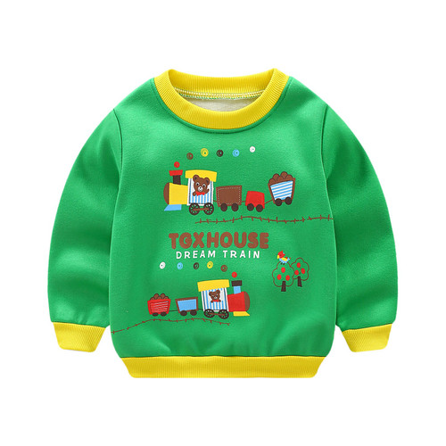 New Infantil Baby Boys Roupas Hoodies Lion Print Sweatshirt Children's Pullover Outerwear Autumn Spring Fashion Tops T-shirt - Joelinks store