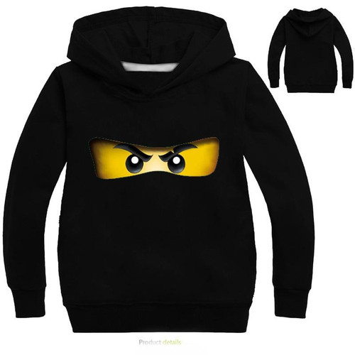 YLS 2-14Years Toddler Boy Sweatshirt Toddler Legoes Kids Hoodies Ninjago Shirt Long Sleeve Super Heroes Sweater Jongens Kleding - Joelinks store