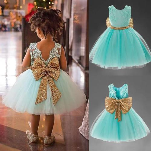 Melario  Girls Dresses 2019  Girls Teenagers Dress Bow-knot Print Princess Party Dress Children Dress Vestidos Kids Costume 2-6Y - Joelinks store