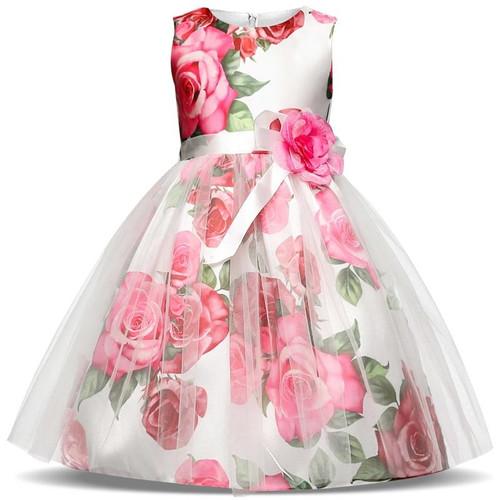 Summer Toddler Girl Dresses For Little Girl School Wear Children Wedding And Holiday Clothing Kids Party Dresses For Girl 8 10T - Joelinks store