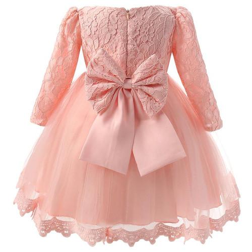 Winter Baby Girl Christening Gown Infant Princess Dress 1st Birthday Outfits Children Kids Party Wear Dress Girl Formal Vestido - Joelinks store