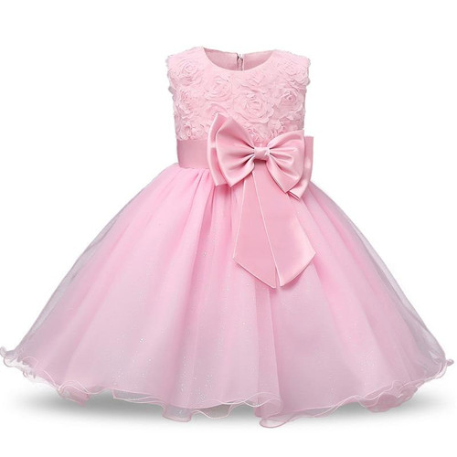 Princess Flower Girl Dress Summer Tutu Wedding Birthday Party Dresses For Girls Children's Costume Teenager Prom Designs - Joelinks store