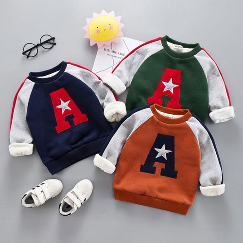 Winter Baby Boys Girls Clothes Sweater Jacket for newborn Baby Boys Girls Clothing Outfits Pullover overalls hoodies outerwear - Joelinks store