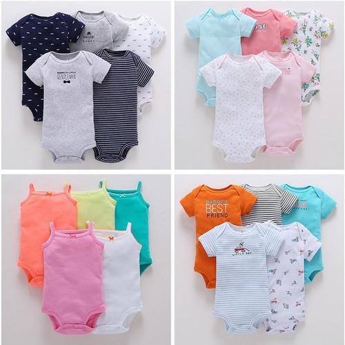 2019 bodysuit set / 5 pcs per lot / Carter's design / Summer infant baby outfits - Joelinks store