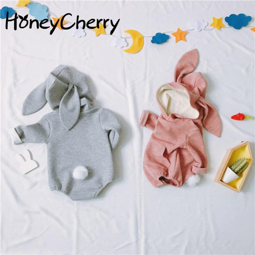 Baby Rabbit Stereoscopic Shape Of  Children's Conjoined Clothes  Baby Girl Clothes Bodysuit Baby Body For Newborn Babys - Joelinks store