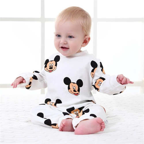 Baby Rompers Spring Baby Boy Clothes Cotton Newborn Baby Clothes Cartoon Baby Boy Clothing Sets Roupas Infant Jumpsuits - Joelinks store
