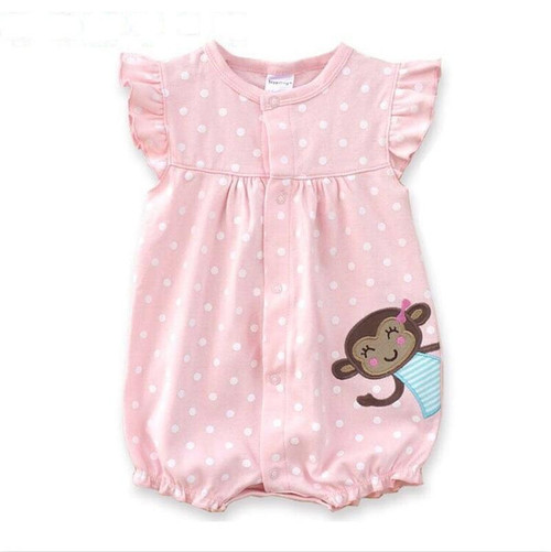 2019 Baby Rompers Summer Baby Girl Clothes Cute Newborn Baby Clothes Baby Girl Clothing Sets Roupas Bebe Infant kid Clothing - Joelinks store