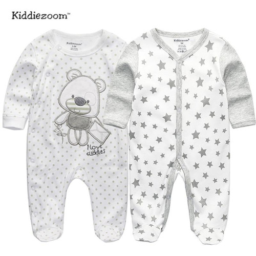 2019 baby clothes Full Sleeve cotton infantis baby clothing romper cartoon costume ropa bebe 3 6 9 12 M newborn boy girl clothes - Joelinks store