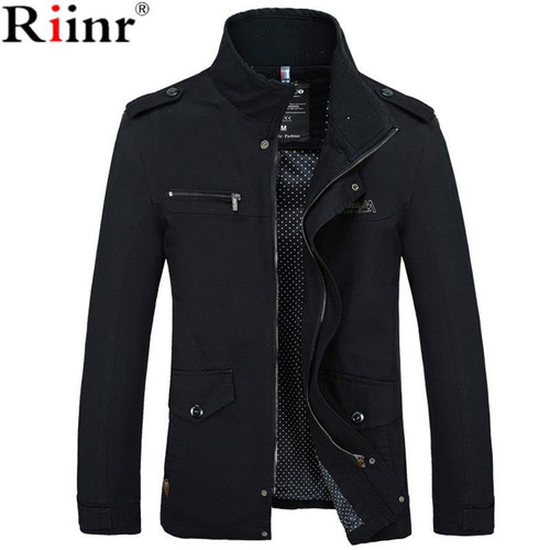 Clothes Coat New Arrival Male Jacket Slim Fit High Quality Mens Spring  Clothing Man Jackets Zipper Warm Cotton-Padded - Joelinks store