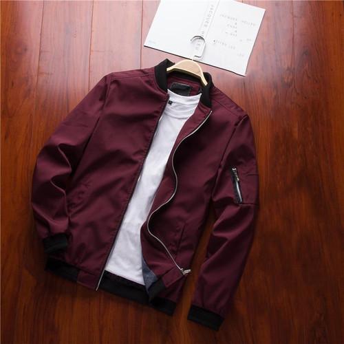 NaranjaSabor Spring New Men's Bomber Zipper Jacket Male Casual Streetwear Hip Hop Slim Fit Pilot Coat Men Clothing Plus Size 4XL - Joelinks store