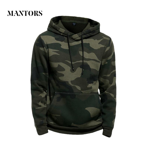 Camo Hoodies Men Military Pocket Hooded 2019 Autumn Winter Army Green Sweatshirt Mens Camouflage Fleece Hoodie Male Hip Hop - Joelinks store