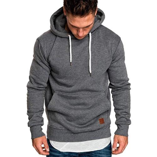 sweatshirt men 2019 NEW hoodies brand male long sleeve solid hoodie men black red big size poleron hombre #0922 - Joelinks store