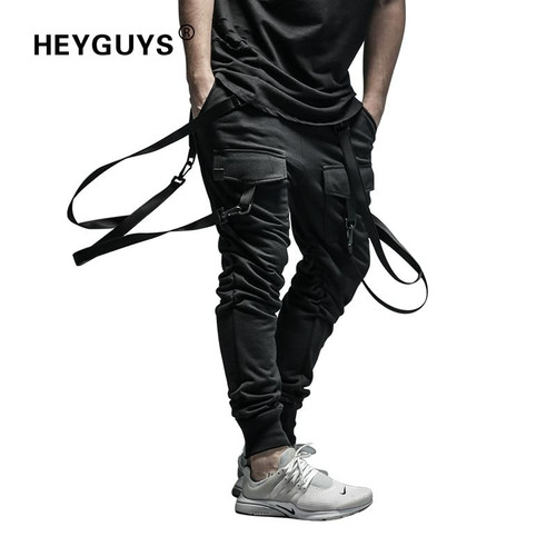 2019 New Dry Men's Pants pocket Full Length Men HIP HOP joggers Pants Plus Size Trousers  men belt women street wear - Joelinks store