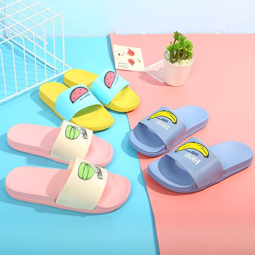 Women Slippers Summer Beach Flip Flops Home Female Slippers Fashion Lovely Ladies Casual Slip On Fruit Kid Woman Shoes Slippers - Joelinks store