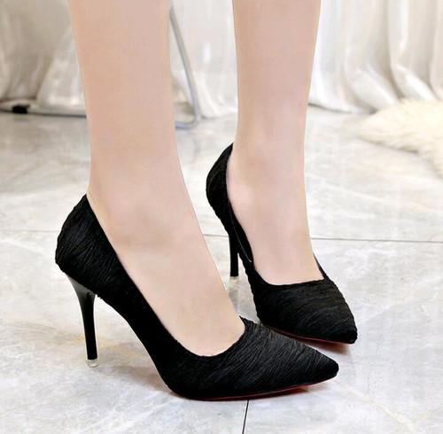 Women Pumps Brand Women Shoes High Heels Sexy Pointed Toe Red Bottom High Heels Wedding Shoes - Joelinks store