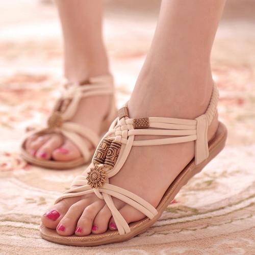 Fashion Women Shoes Sandals Comfort Sandals Summer Flip Flops  High Quality Flat Sandals Gladiator Sandalias Mujer - Joelinks store