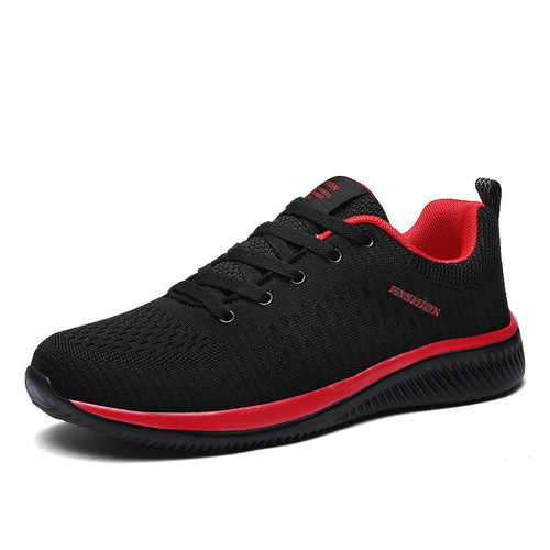 New Mesh Men Casual Shoes Lac-up Men Shoes Lightweight Comfortable Breathable Walking Sneakers Tenis Feminino Zapatos - Joelinks store