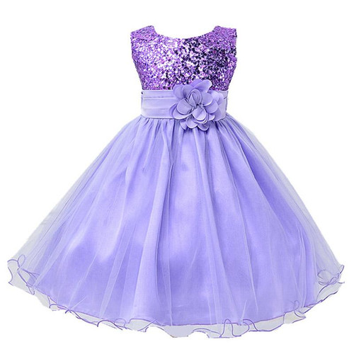 2019 Girls Clothes Summer Girls Dress Elegant Princess Dress Infant Party Kids Dresses For Girls Children Clothing 2 10 12 Years - Joelinks store