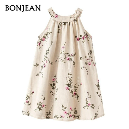 Girls Dress 2018 Summer Kids Dresses For Girls Print Princess Dress Party Children Clothing Girls Baby vestido infant robe fille - Joelinks store